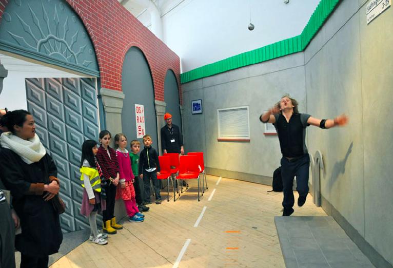 'Slow Motion Accidents Workshop: Risk Centre', Arkitekturmuseet 2013