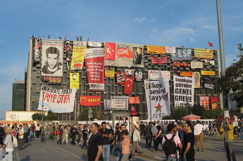 Occupy Gezi Architecture, photo documentation by Herkes Icin Mimarlik