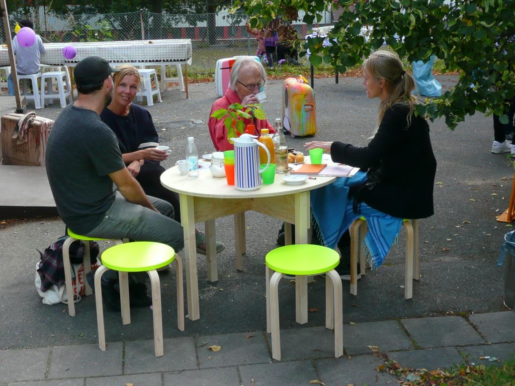 mobile DISHCOURSE in Fittja, Stockholm / September 2015